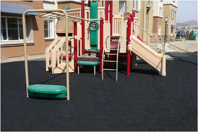 Rubberized Playground - Masters Surfacing Technology, Inc.