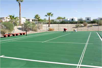 Tennis Court  - Masters Surfacing Technology, Inc.